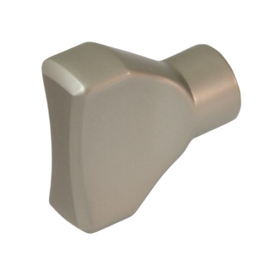 Turnknob for ISEO cylinder, nickel