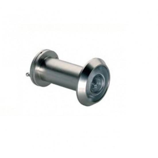 Peephole, Ø 14mm, 35 -55 mm, Matte Chrome