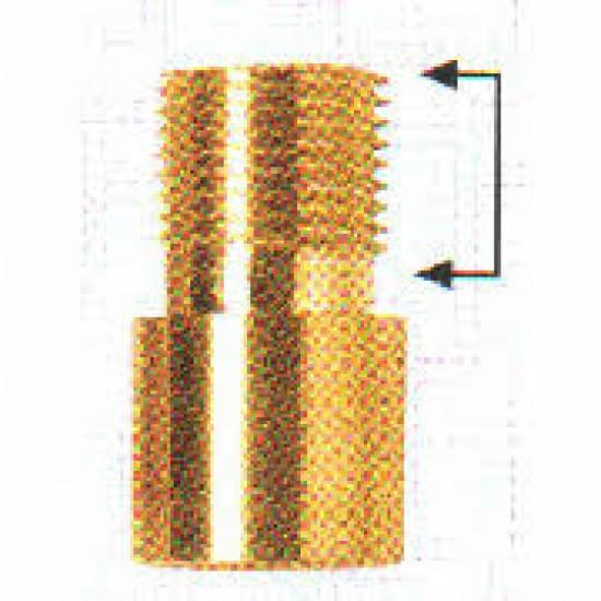 Extender, 14mm, Brass