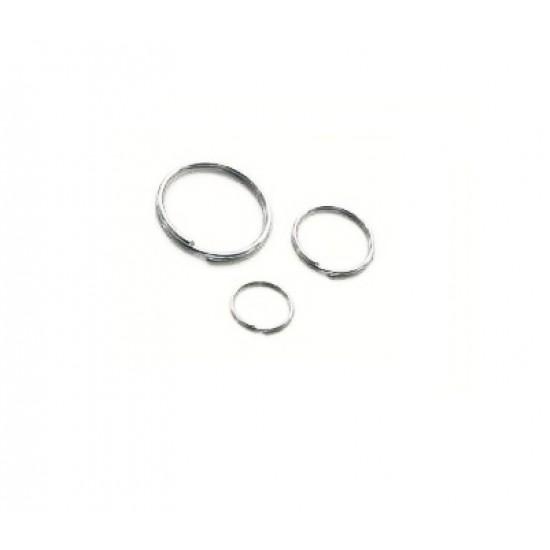 Key Ring, 18mm, Nickel