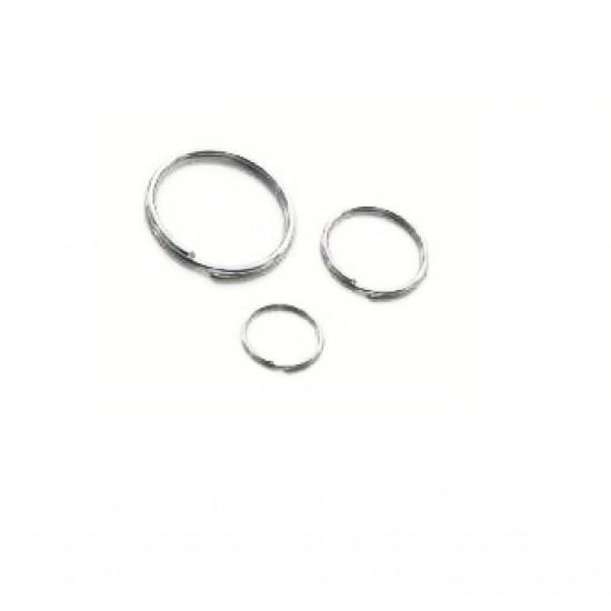 Key Ring, 30mm, Nickel