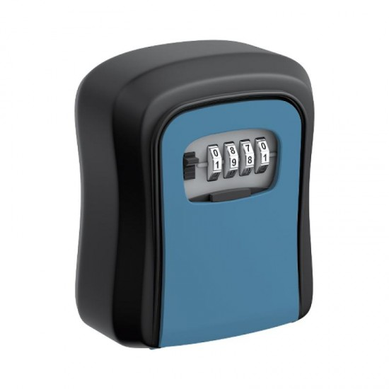 Coded key box, blue