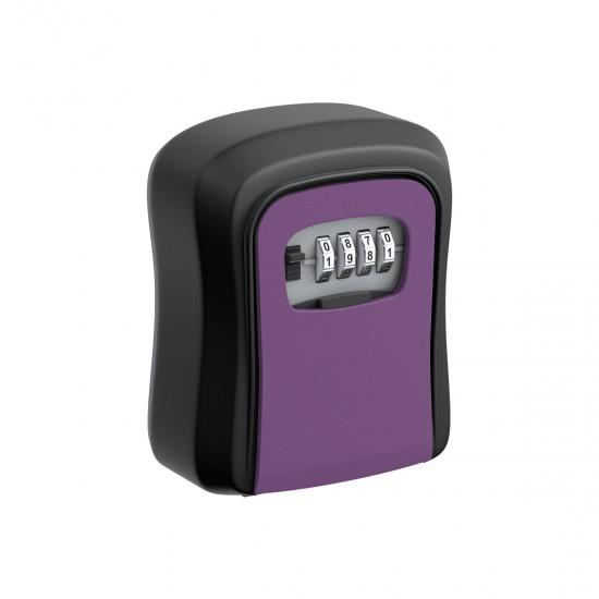 Coded key box, violet