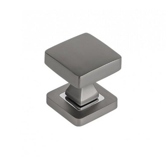 square knob, graphite
